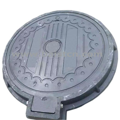 SMC Sewer Cover 700mm With Hinge Pass Load 70tons