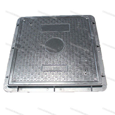 655x655mm B125 Resin Manhole Cover