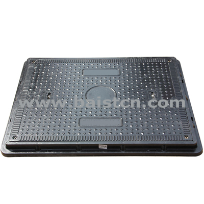 EN124 B125 Clear Opening 600x800mm SMC Manhole Cover
