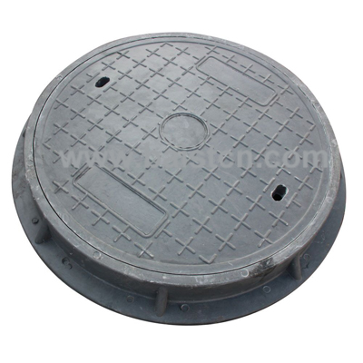 SMC Manhole Cover EN124 D400 700x70mm With Good After-Sales