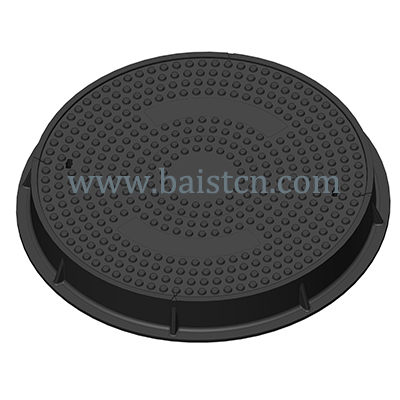 Petrol Station SMC Manhole Cover Clear Opening 700mm D400