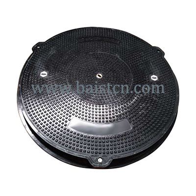 Clear Opening 900mm D400 SMC Resin Manhole Cover With Centra