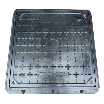 600x600 C250 SMC Manhole Cover With Screw